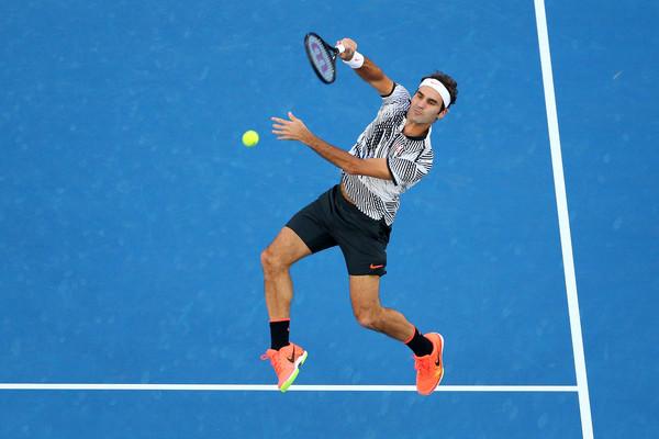 AUS Open. Федерер уверенно вышел в полуфинал