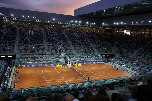 Tennis Tour. Mutua Madrid Open. 6-15 мая 2017. Теннис+ коррида+футбол!