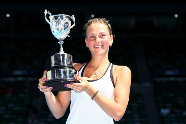 Марта Костюк выигрывает Открытый чемпионат Австралии среди юниоров (+ фото +видео)