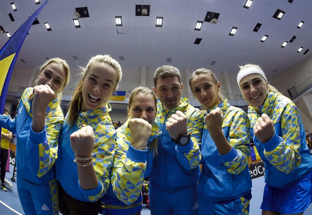 Кубок Федерации. Украина вступит в борьбу 6 февраля
