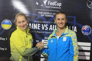 Кубок Федерации. Украина-Австралия. Результаты жеребьевки (фото)