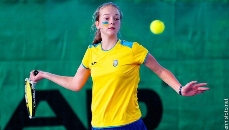 Любовь Костенко — 4-я в рейтинге юниорок до 14 лет (Tennis Europe)