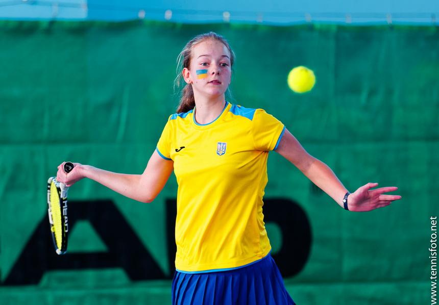 Юниоры (14 лет и младше). Костенко — в финале турнира в Сен-Женевьев-дю-буа