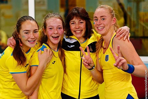 Командный чемпионат мира. Девушки до 14 лет. Украина — Болгария 3-0