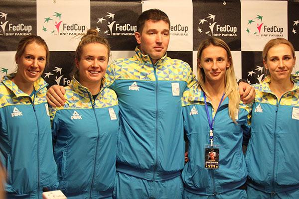 Кубок Федерации. Украина поднимается в рейтинге сборных на 2 позиции