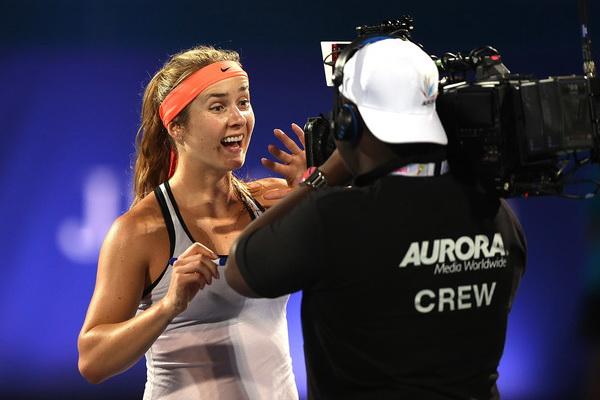 Элина Свитолина: Рада, что удалось перенести позитивный настрой на крупные турниры