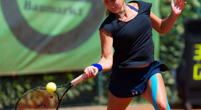 Ольга Янчук выигрывает турнир ITF в Ираклионе