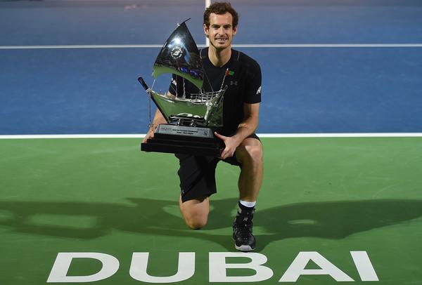 Дубай. Энди Маррей завоевывает 45-й титул в карьере