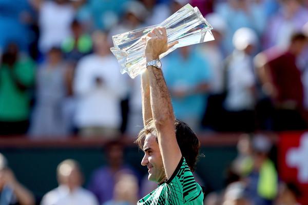 Федерер выигрывает Мастерс в Индиан-Уэллс (видео)