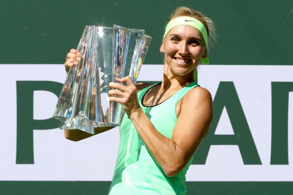 Веснина впервые выигрывает турнир серии WTA Premier Mandatory (видео)