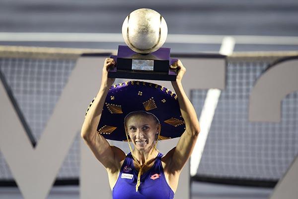 Цуренко выигрывает свой третий титул WTA в карьере (+видео)