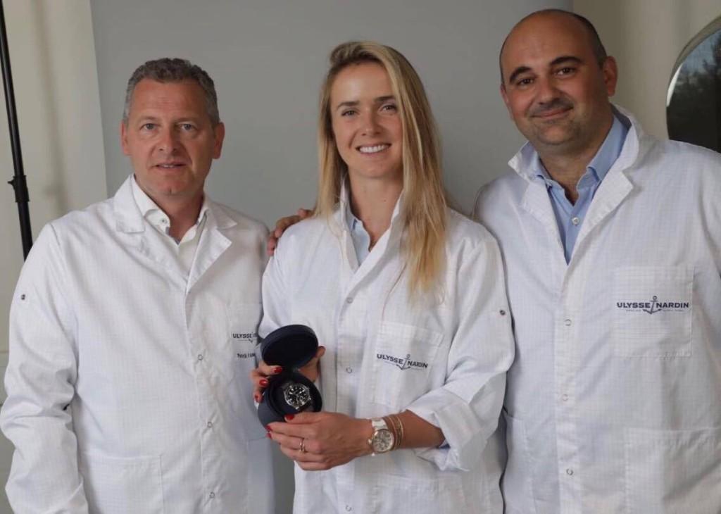 Свитолина становится амбассадором швейцарского бренда «Ulysse Nardin»