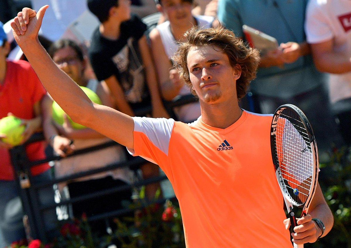 Зверев стал самым молодым финалистом «Мастерса» после Джоковича в 2007-м