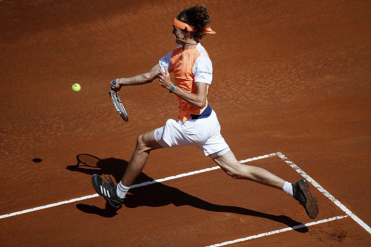 Александр Зверев выигрывает Мастерс в Риме