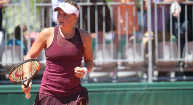 Козлова выигрывает титул на турнире ITF в Риме