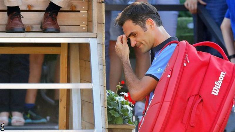 Штутгарт. Федерер не прошел Хааса в матче самых возрастных теннисистов