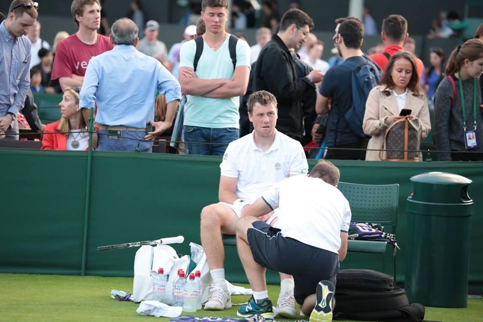 Илья Марченко: Упал прямо на больное колено