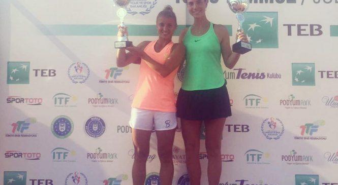 Васильева выигрывает парный титул в Бурсе