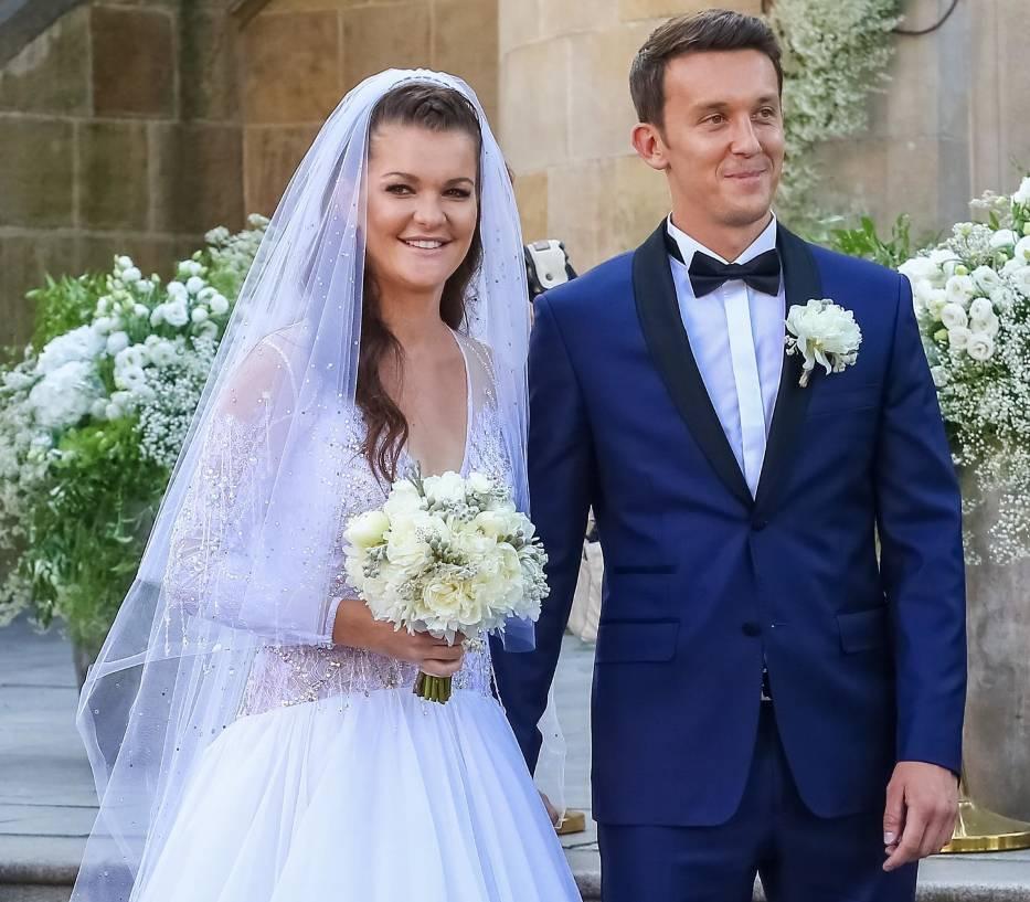 Агнешка Радваньска вышла замуж (фото)