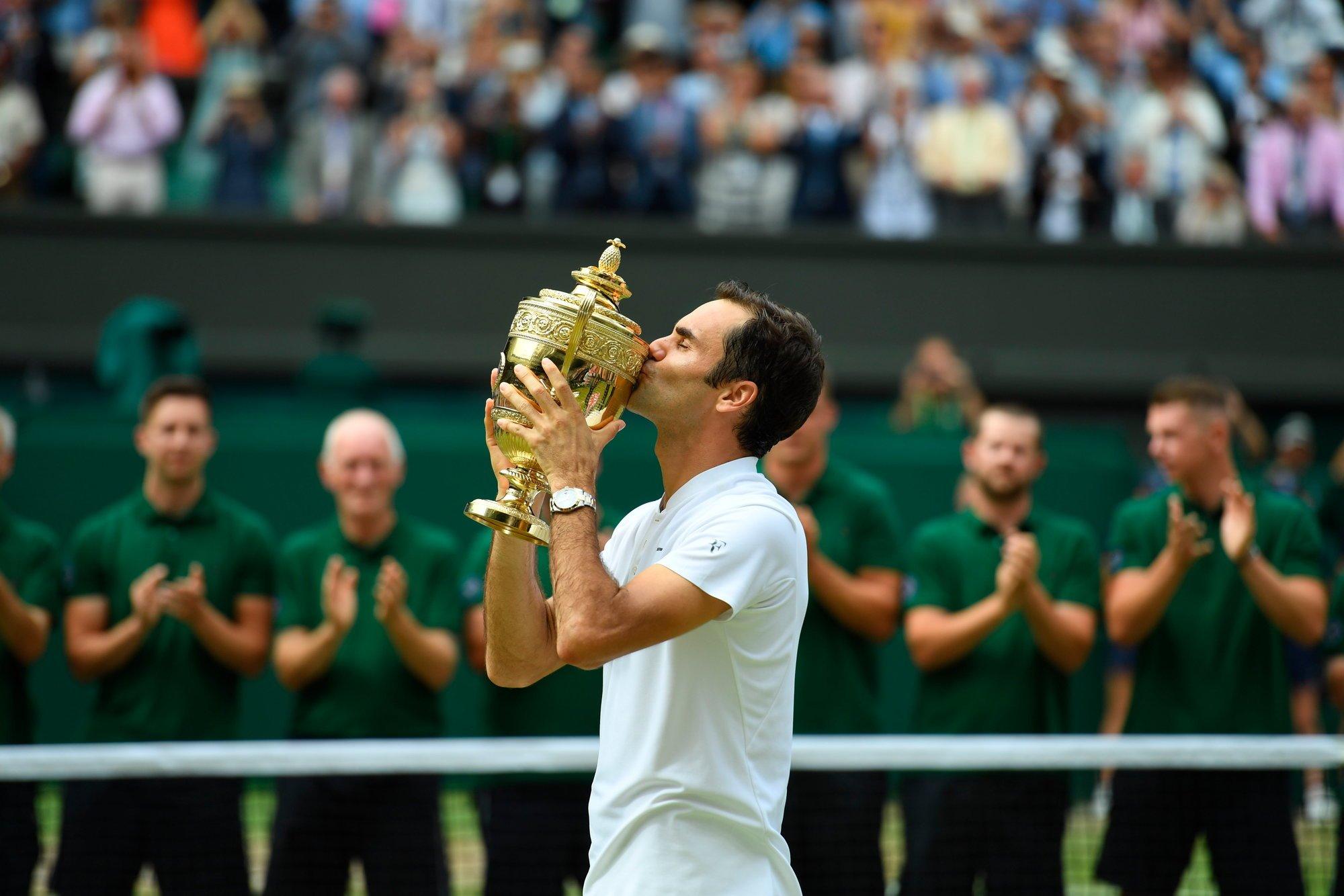 Уимблдон. Федерер улучшил рекорд Сампраса, не отдав при этом ни одного сета на турнире (видео)