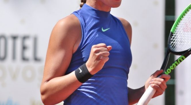 Лопатецкая — чемпионка Европы (14 лет и младше), Костюк — серебряный призер (18 лет и младше)
