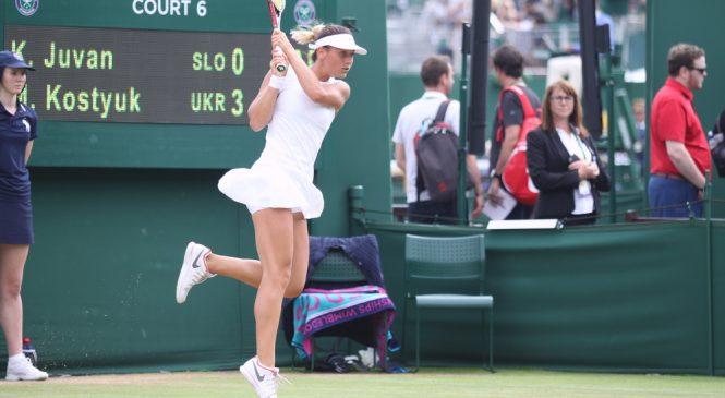 Марта Костюк: В теннисе можно выиграть с любого счета