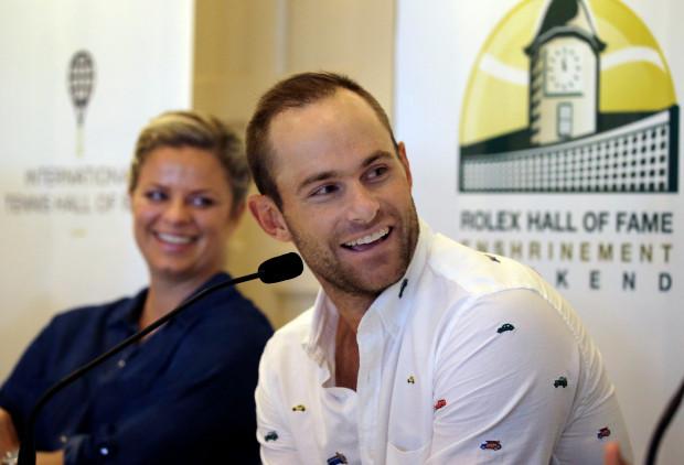 Клейстерс и Роддик введены в Зал теннисной славы (фото)