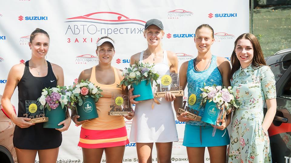 Чернышова и Капшай выигрывают парный титул в Ивано-Франковске