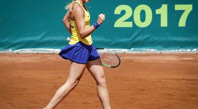 Лопатецкая выигрывает свой первый профессиональный титул ITF