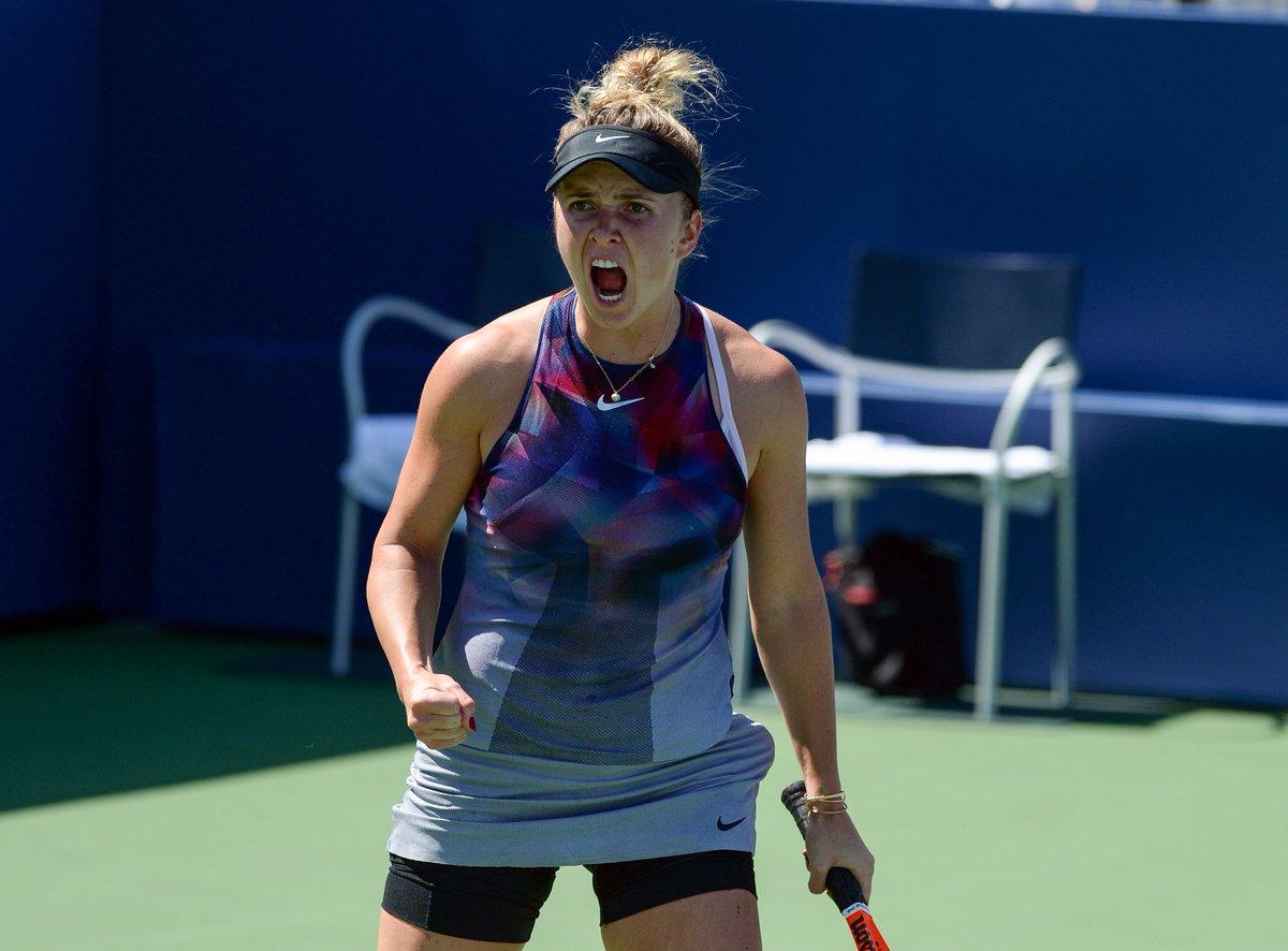 Свитолина выходит во второй раунд US Open