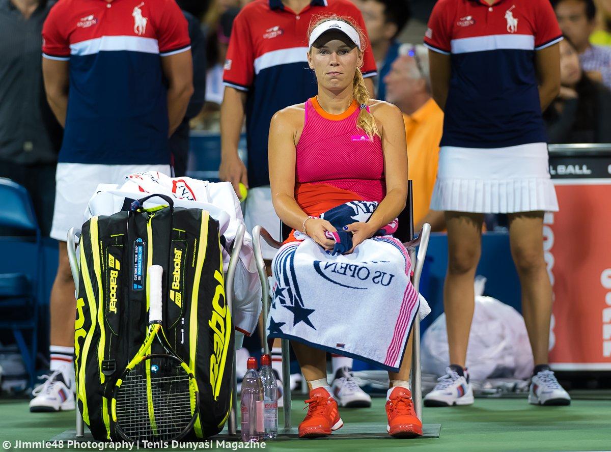US Open. Возняцки проигрывает Макаровой