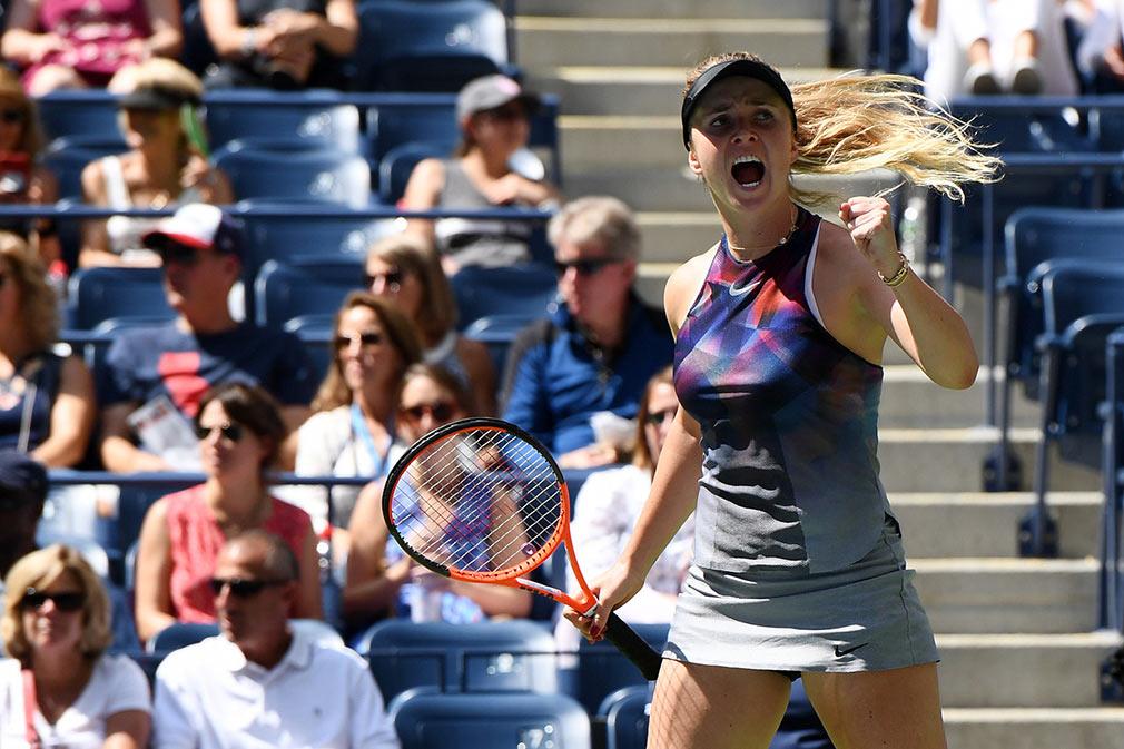 Свитолина третий раз подряд выходит в третий раунд US Open