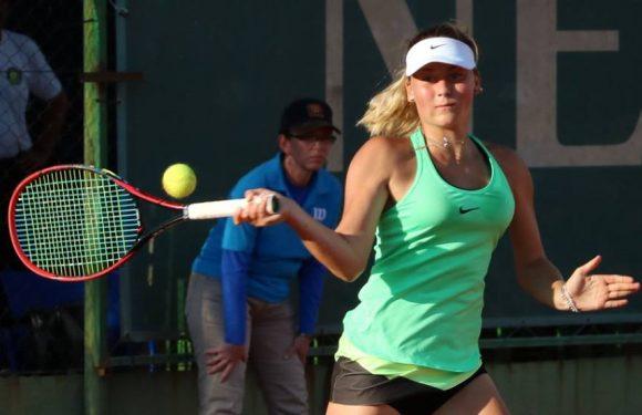 Марта Костюк уже тренируется в Мельбурн-парке