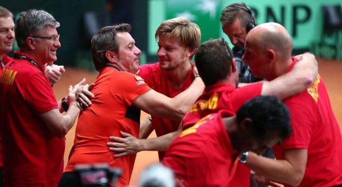 В финале Кубка Дэвиса сыграют сборные Франции и Бельгии
