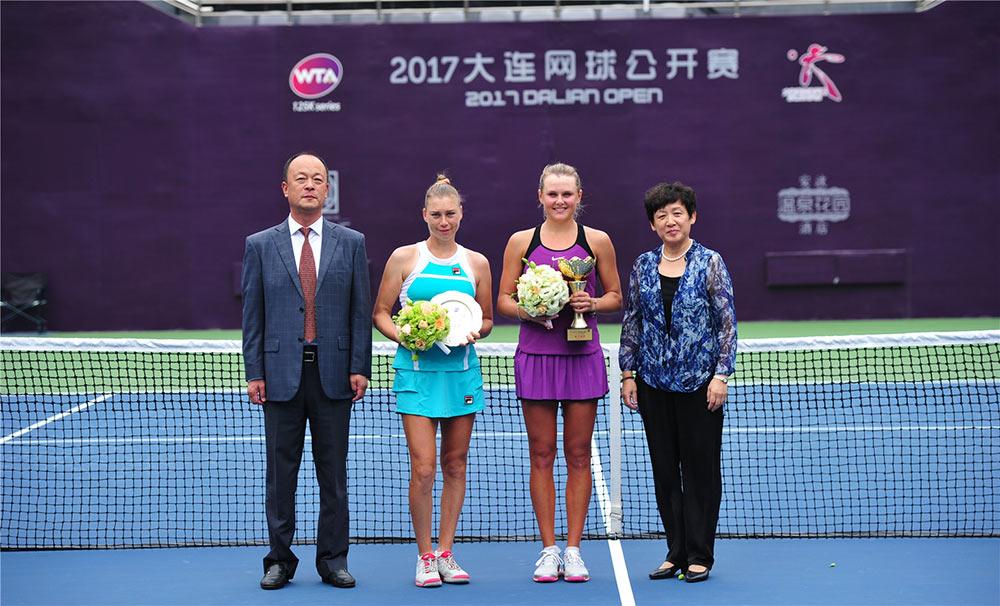 Козлова выигрывает титул на турнире WTA challenger в Даляне