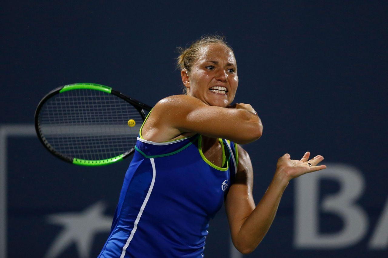Бондаренко вышла в полуфинал турнира WTA в Ташкенте