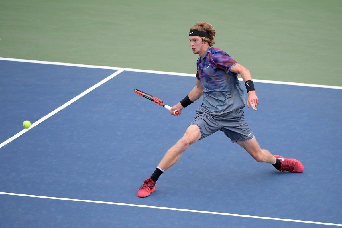 US Open. Рублев впервые сыграет в четвертьфинале Шлема