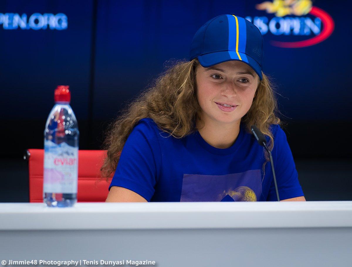 Остапенко: мы с 10 лет играем с Касаткиной на одних турнирах, но я её не знаю (видео)
