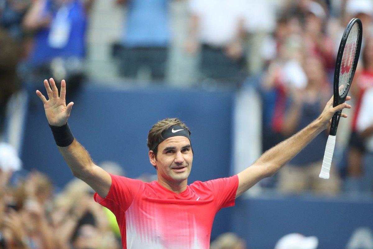 Федерер одерживает 80-ю победу на US Open