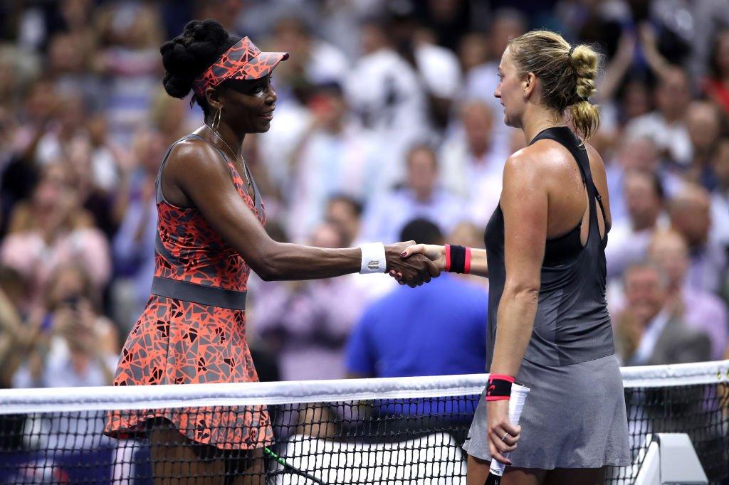 Винас Вильямс -самая возрастная полуфиналистка в истории US Open