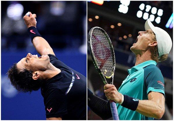 US Open. В финале сыграют Надаль и Андерсон