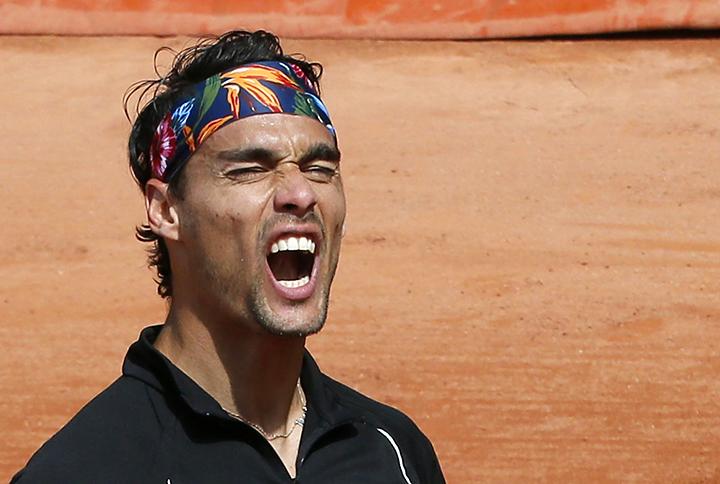 Фоньини дисквалифицирован с US Open за оскорбления судьи