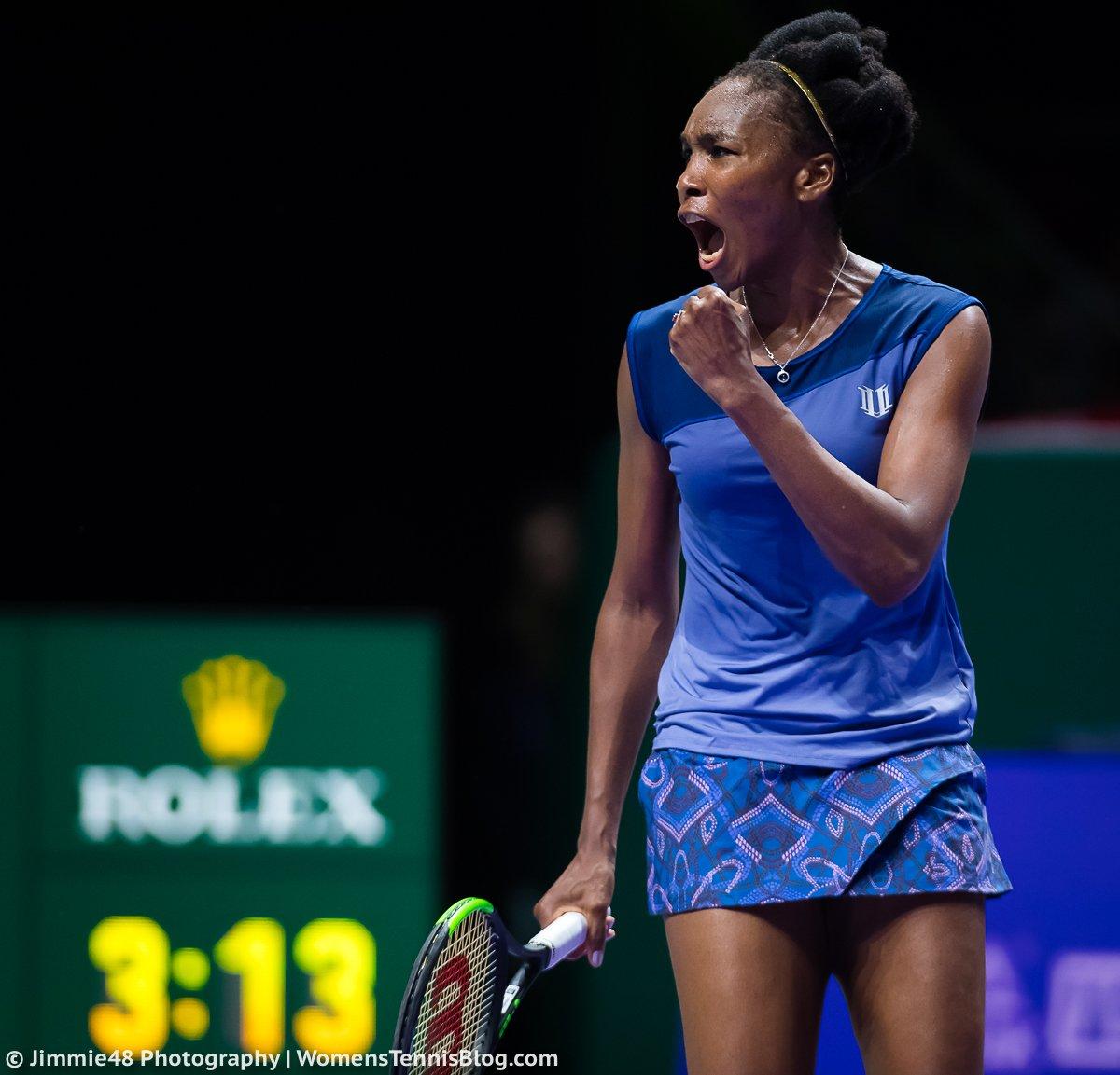 Вильямс — в полуфинале Итогового чемпионата WTA