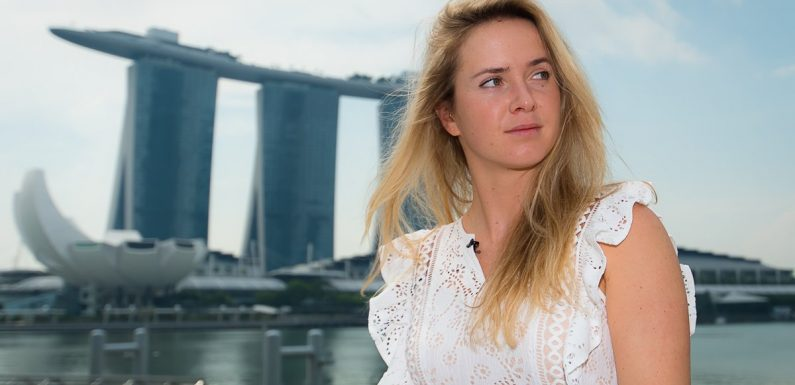 Элина Свитолина съездила в тур по Сингапуру