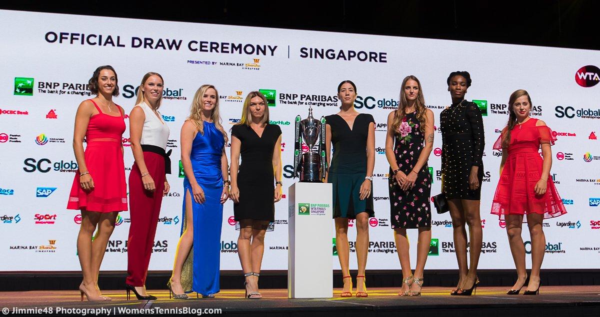 Итоговый чемпионат WTA. Результаты жеребьевки
