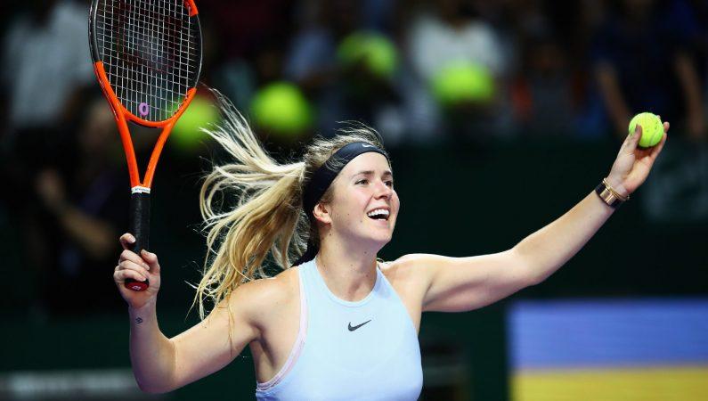 Элина Свитолина — третья сеяная на турнире WTA Brisbane International