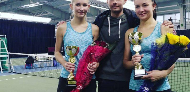 Сестры Колб выиграли парный титул в Минске