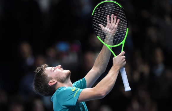 Итоговый чемпионат ATP. Гоффен обыгрывает Федерера и выходит в финал