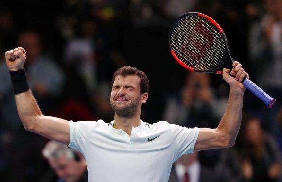 Димитров вышел в финал Итогового чемпионата ATP