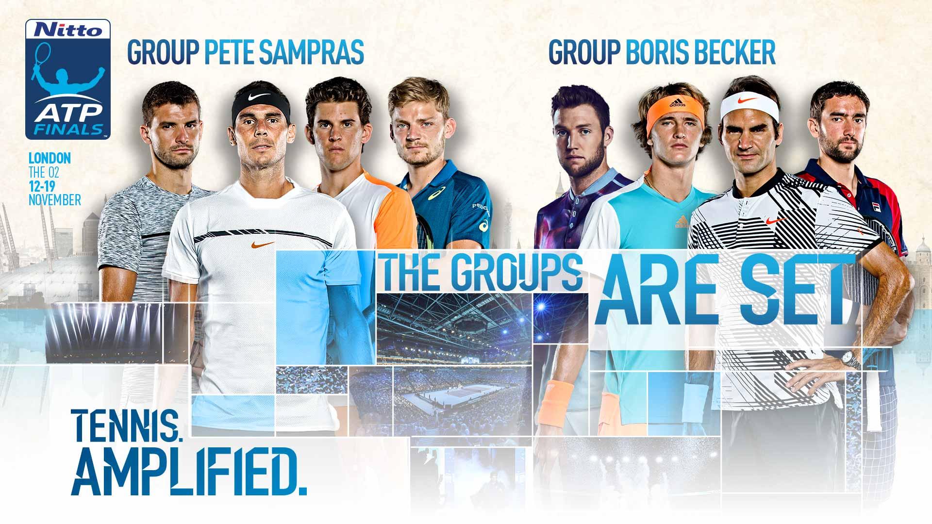 Итоговый турнир ATP. Результаты жеребьевки